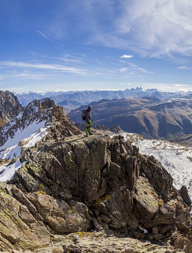 A view from the French Alps