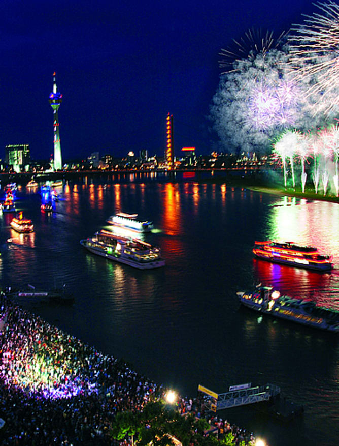 Rhine Firework Display