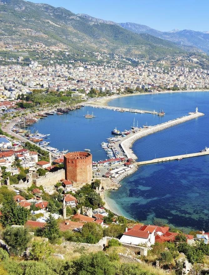 Antalya port, Turkey