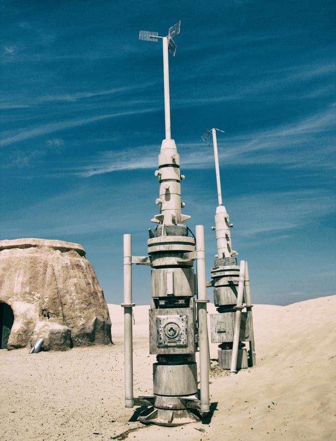 Star Wars location