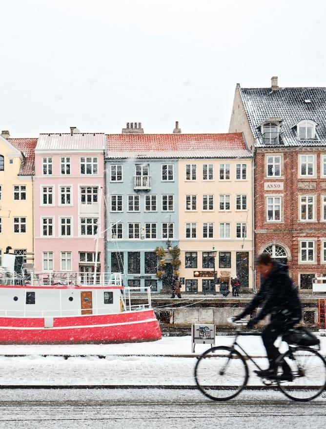 Snowy Nyhavn