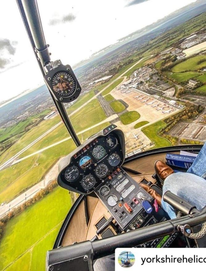 #CheckInTuesday pilot view