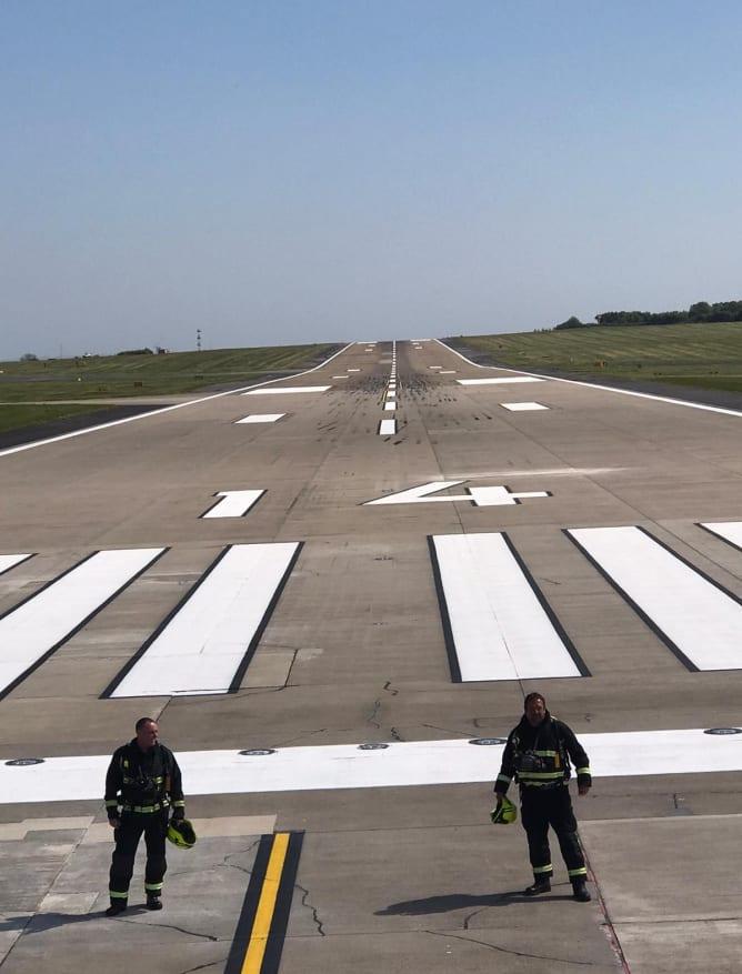 LBA runway
