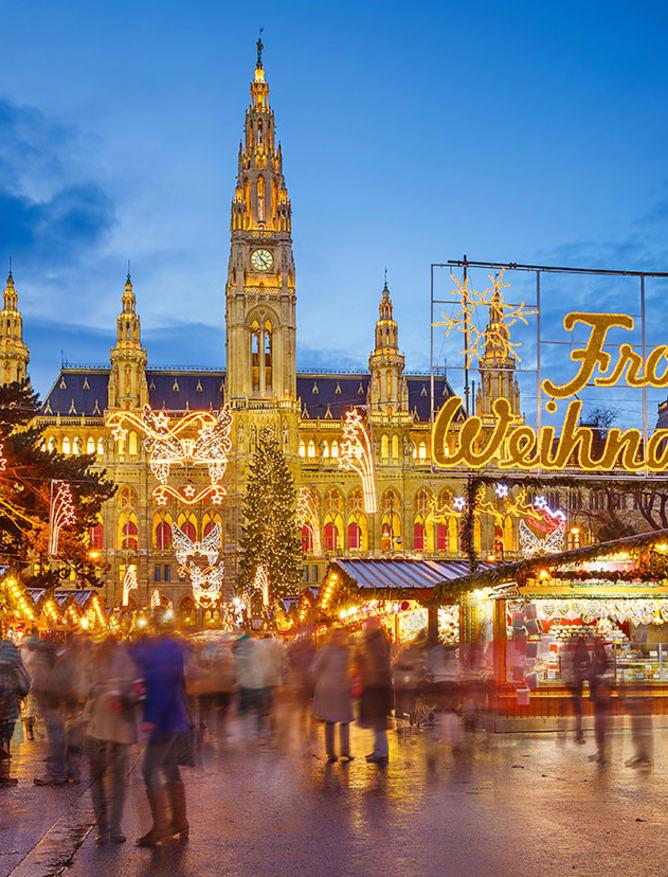 Vienna's festive market