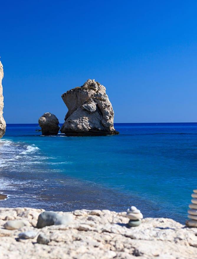 Aphrodite's beach, Cyprus