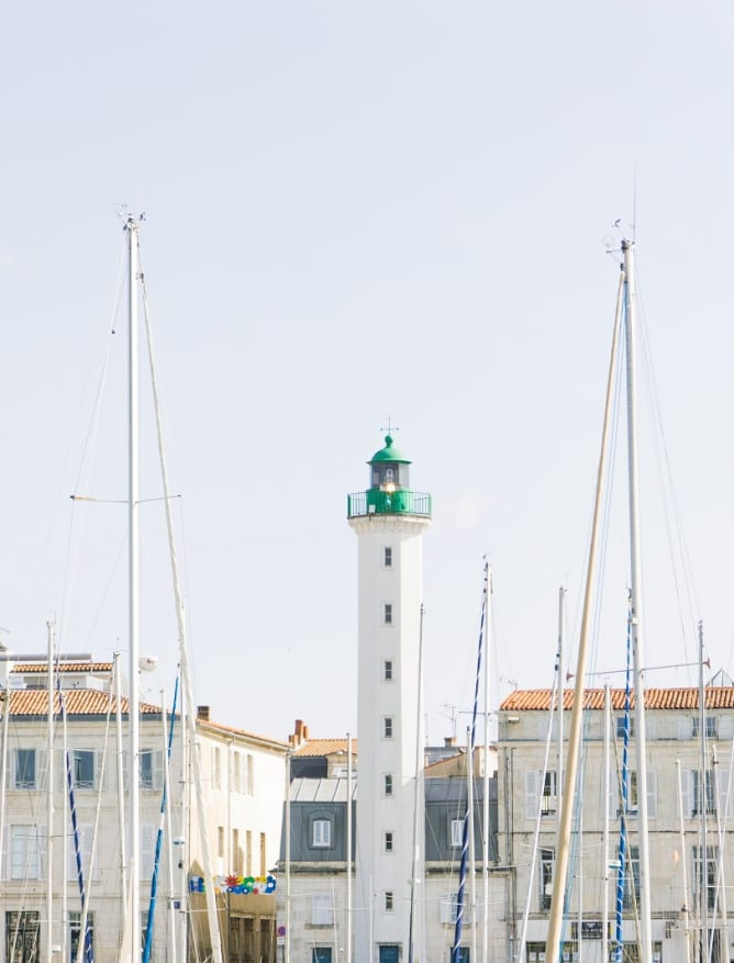La Rochelle lighthouse and harbour