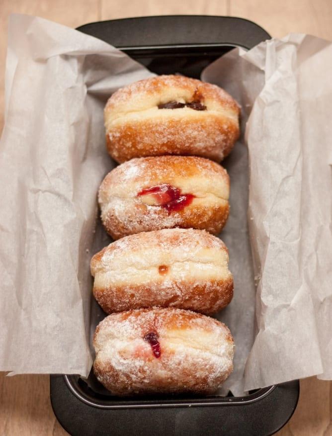 Berliner Pfannkuchen doughnuts