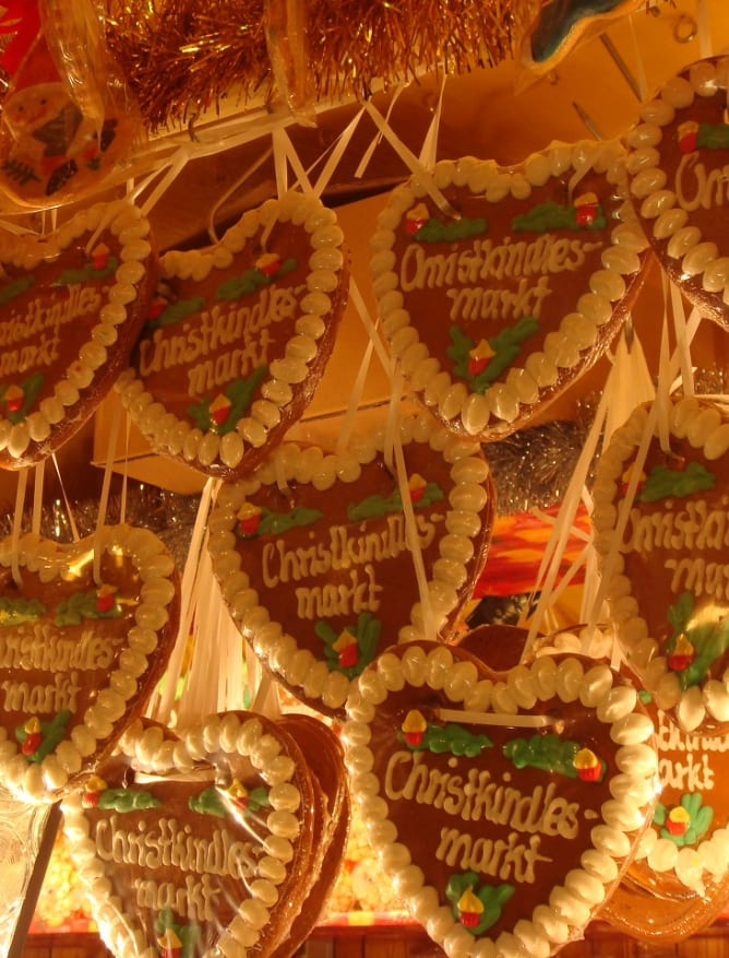 Gingerbread at the Christmas Markets
