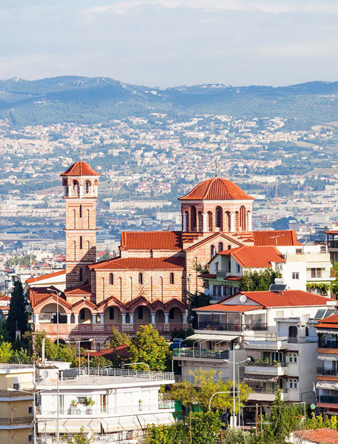 Thessaloniki skyline