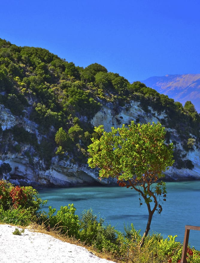 A coastal lookout on Zakynthos