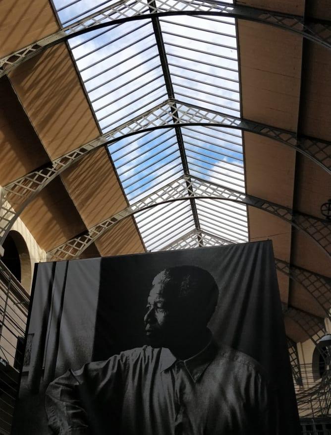 Mandela display at Kilmainham Gaol Prison
