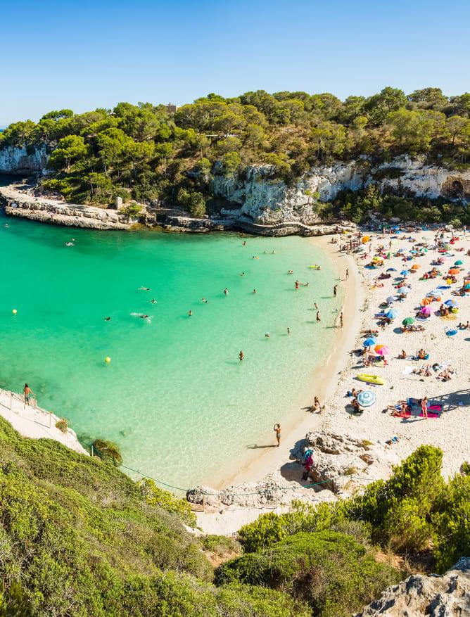 Sunbathing on the Balearic Islands