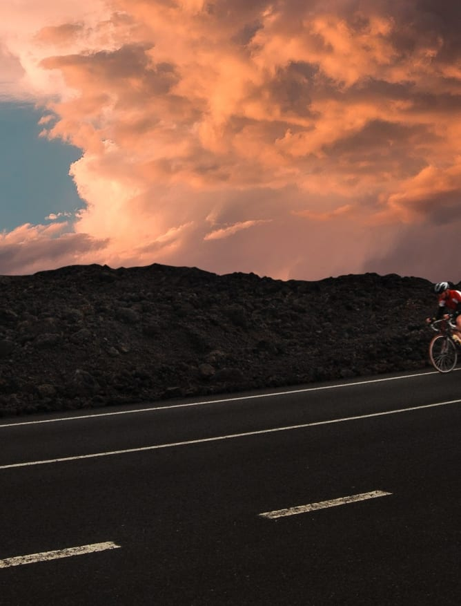 Cycling Timanfaya National Park