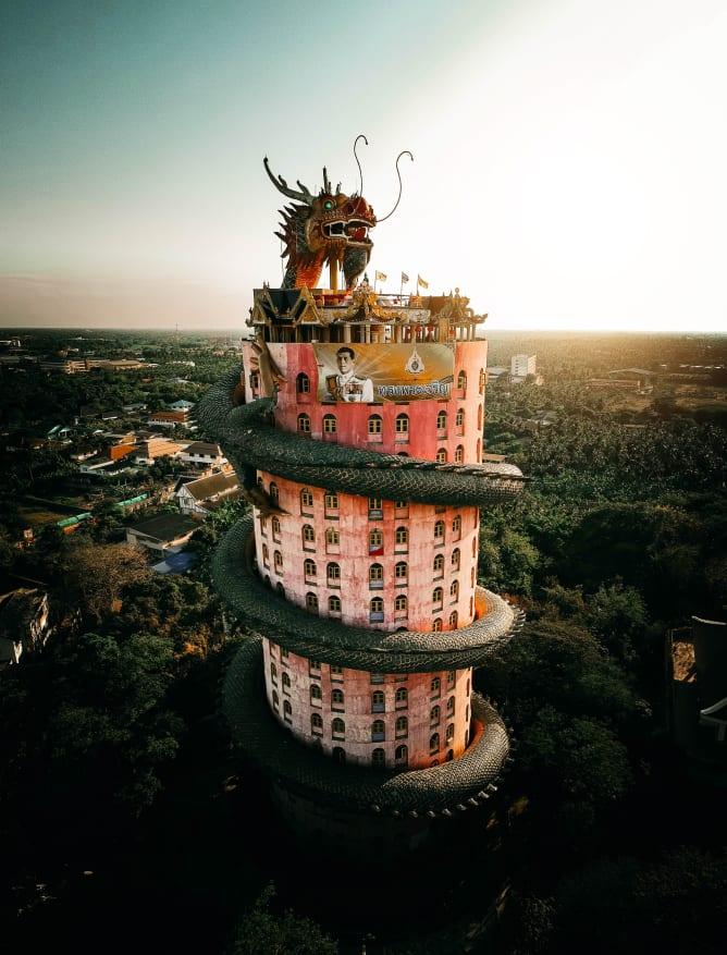 Wat Samphran, Bangkok