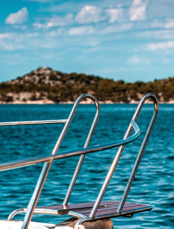 Coastal tour of Split by boat