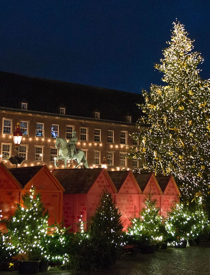 Christmas market in Dusseldorf