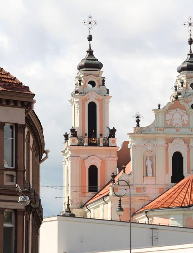Central Vilnius architecture, Lithuania