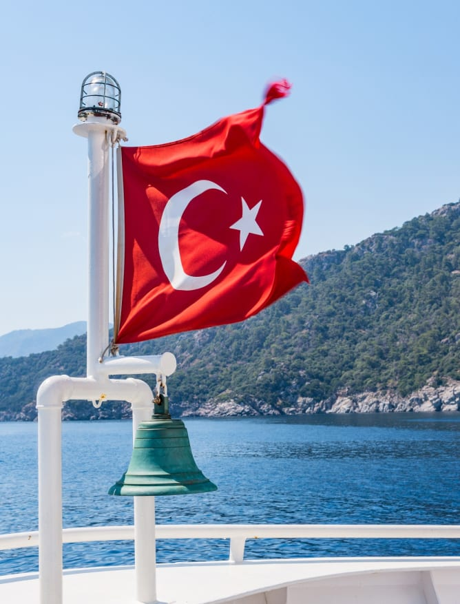 Marmaris from the sea