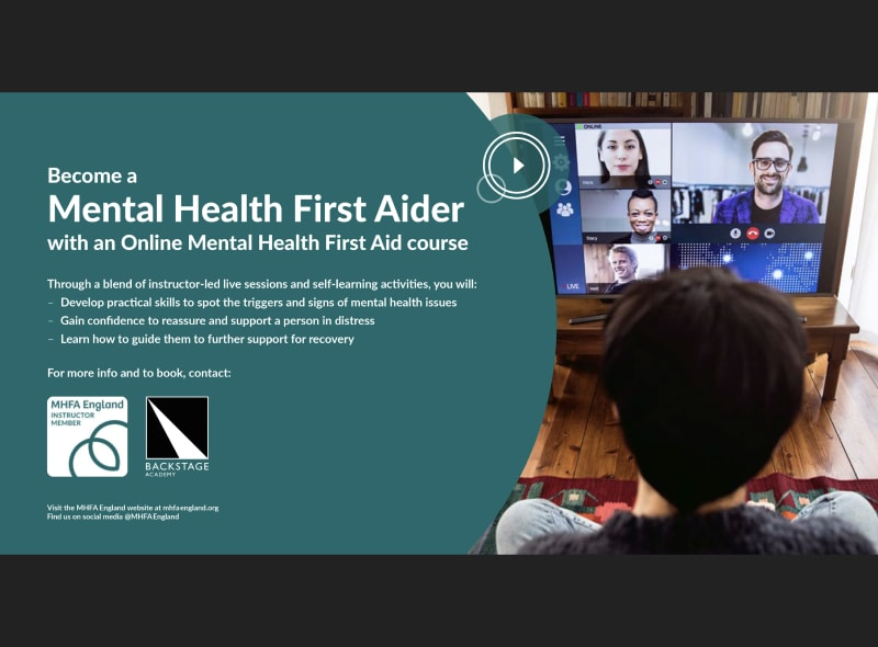 Online Mental Health First Aid Course