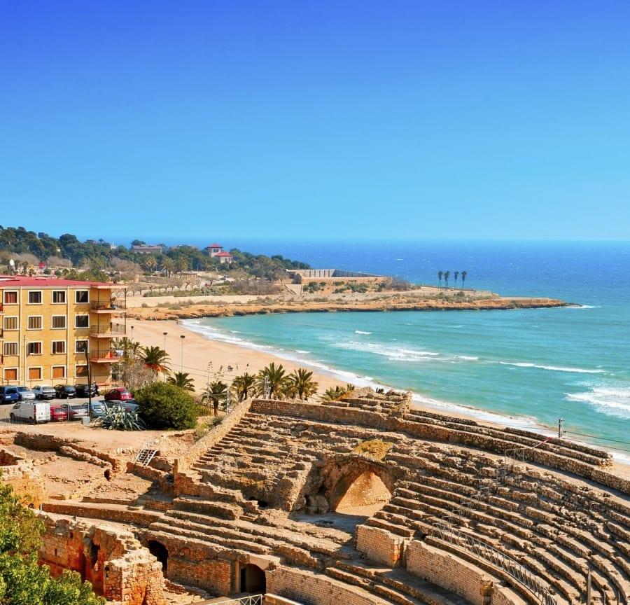 Roman ampitheatre, Tarragona, Spain