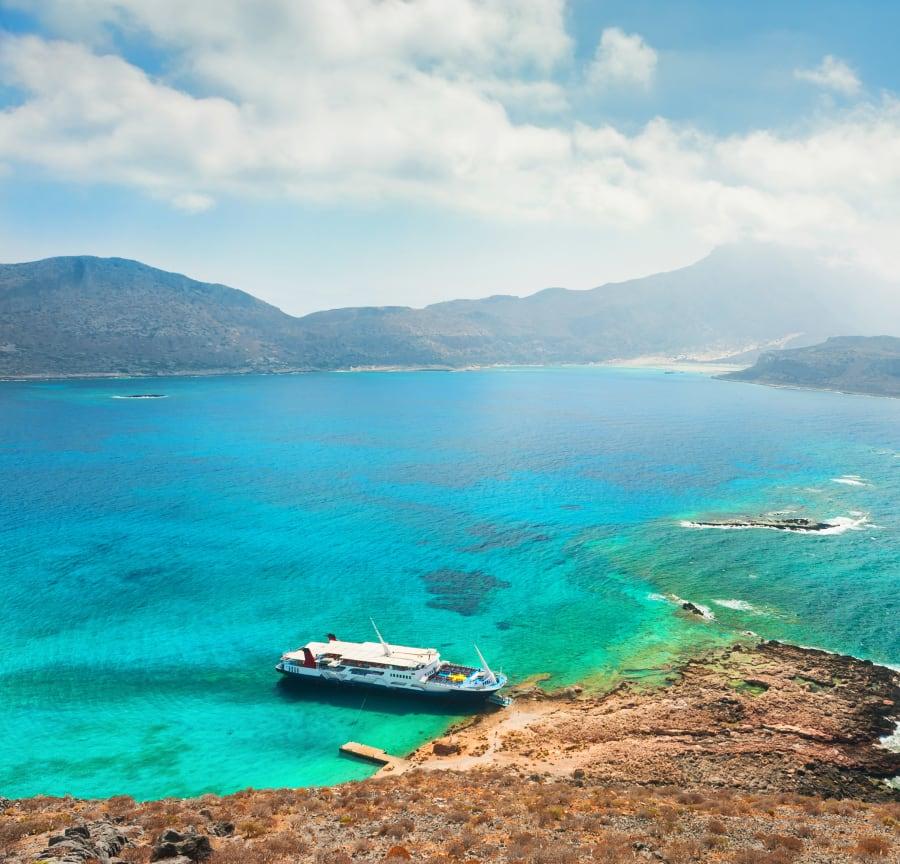 Crete coastline