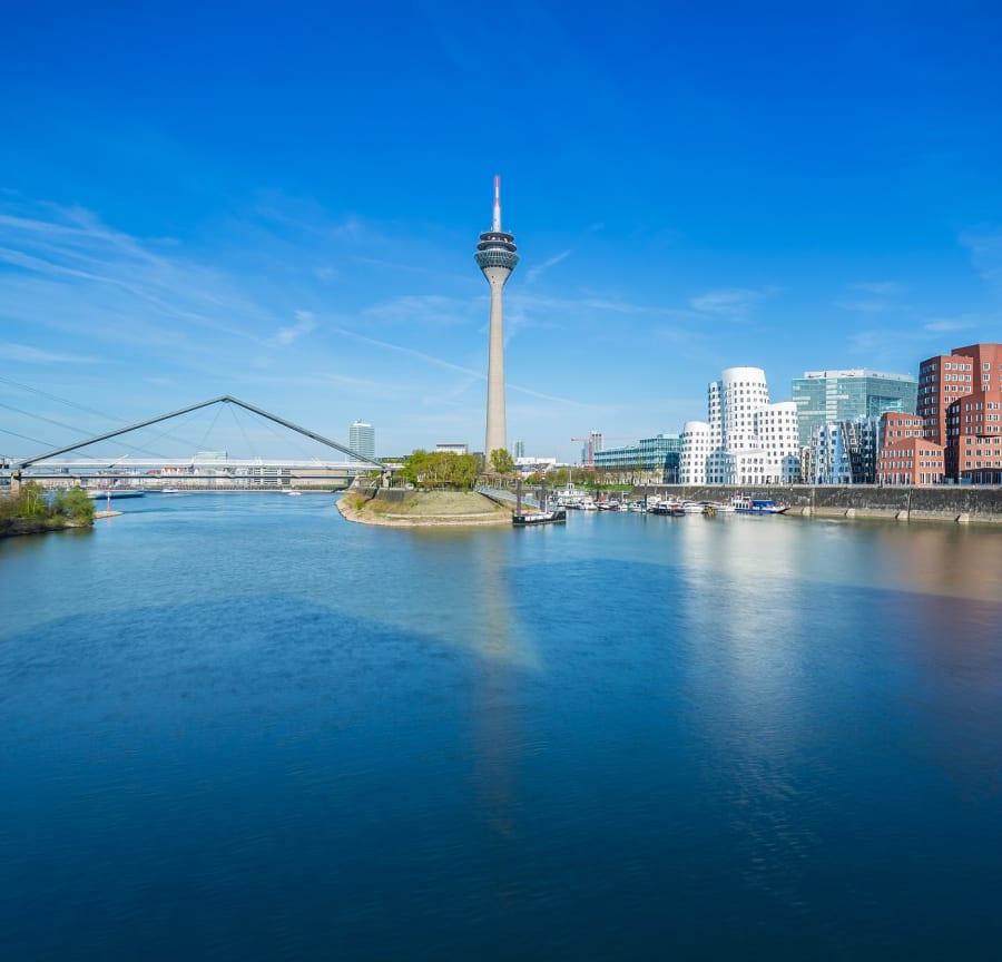 Rhine Dusseldorf