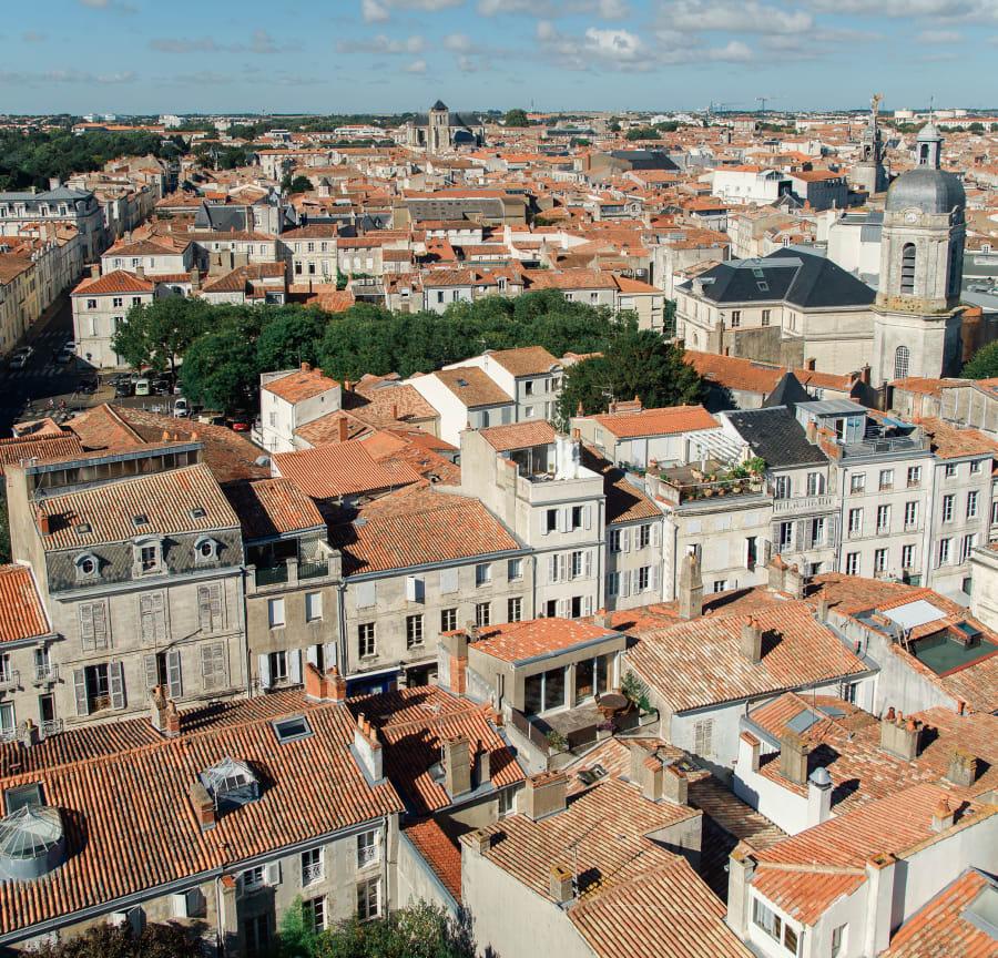 La Rochelle rooftops