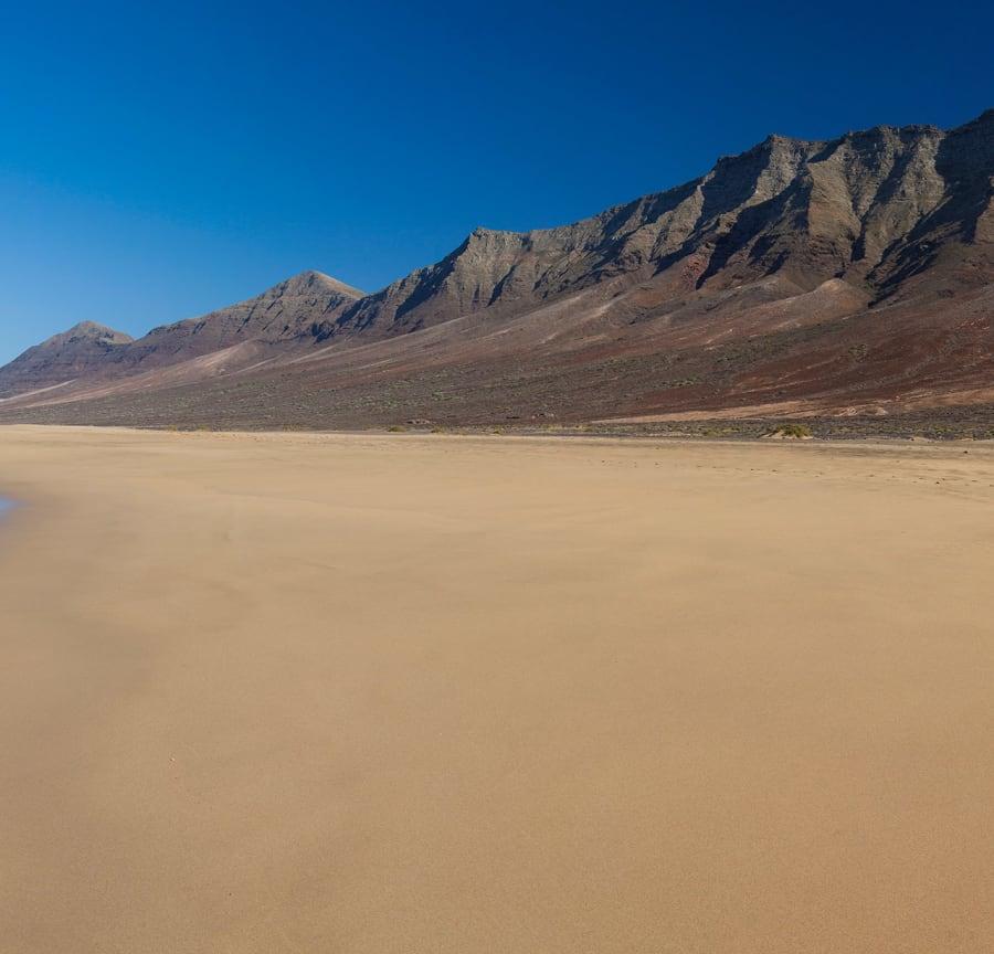 Stunning beach on Fuerteventura