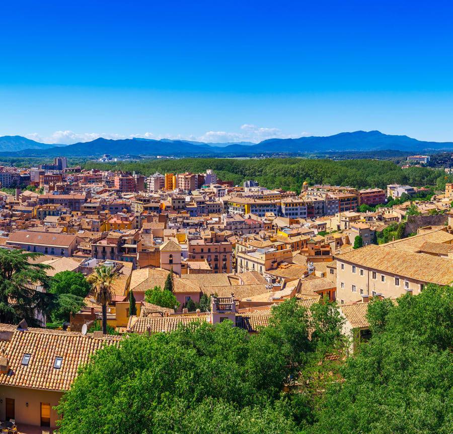 View of Girona