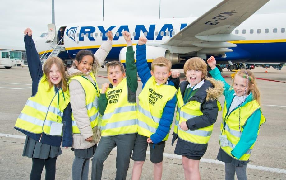 Leeds Bradford Airport celebrate Airport Safety Week
