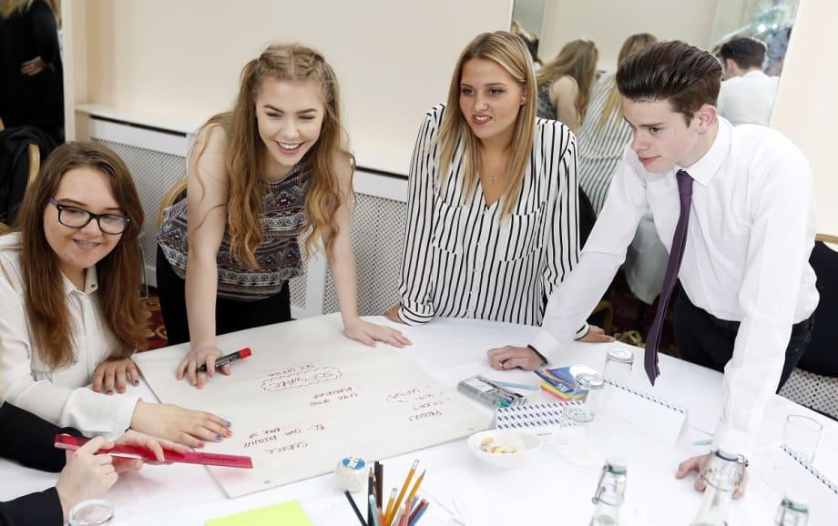 Sheffield College event team-working