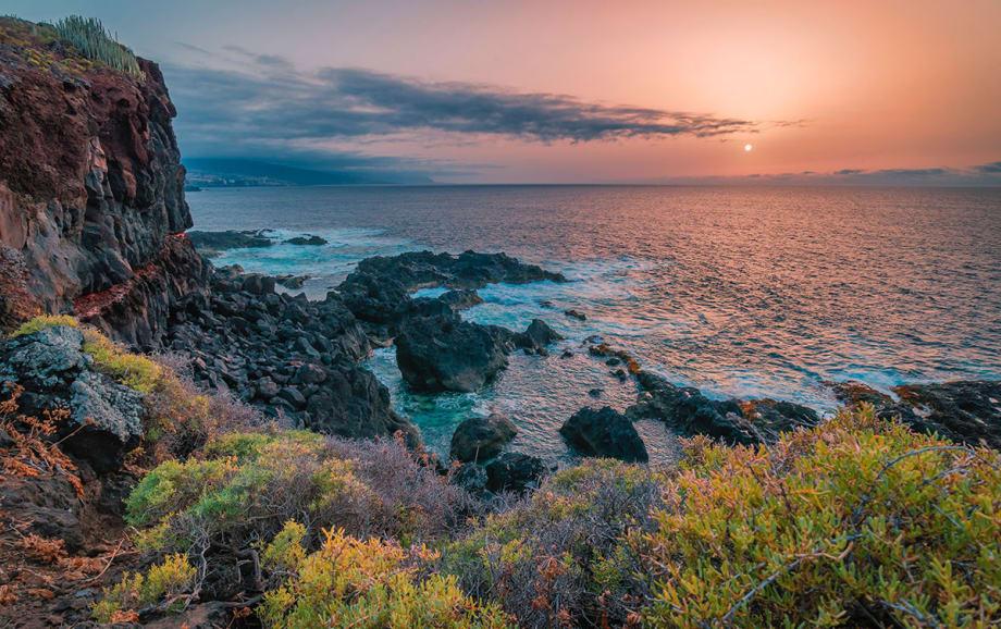 Tenerife at dusk