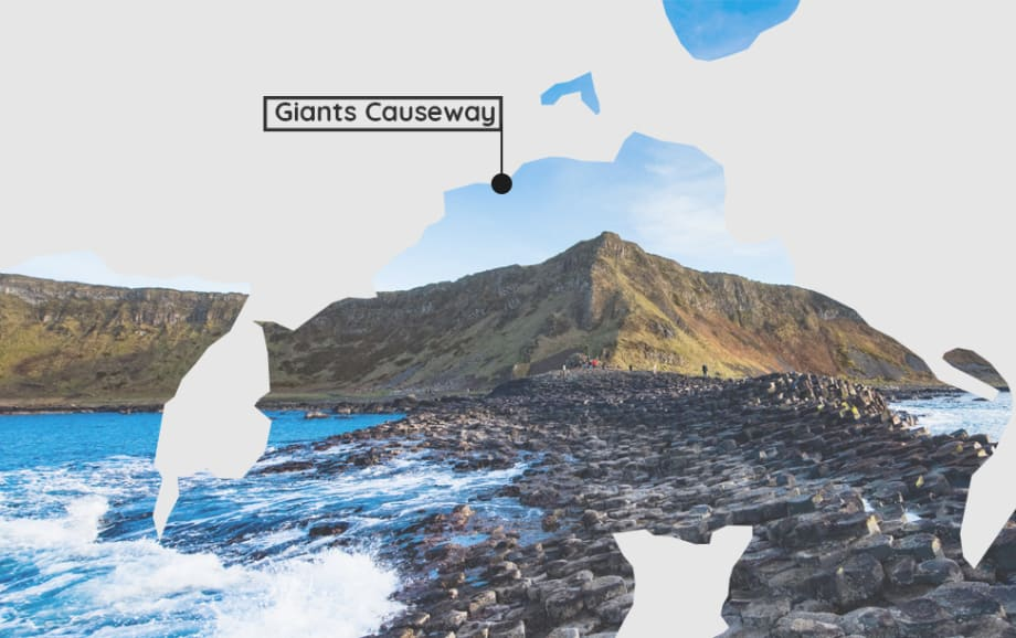 Finding yourself on the Causeway Coastal Route in Northern Ireland