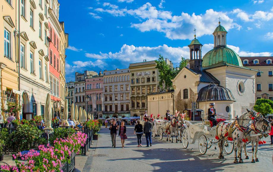 Central Krakow