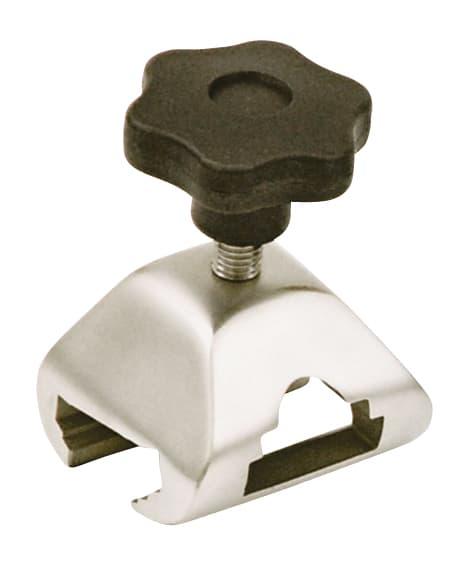 Clamp - Universal (Socket & Rail) - Handwheel - for UK / EU / Swiss Side Bar