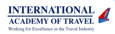 International Academy of Travel – Training For Success