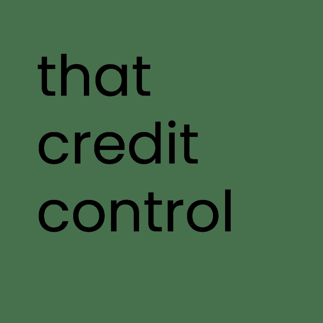 that credit control