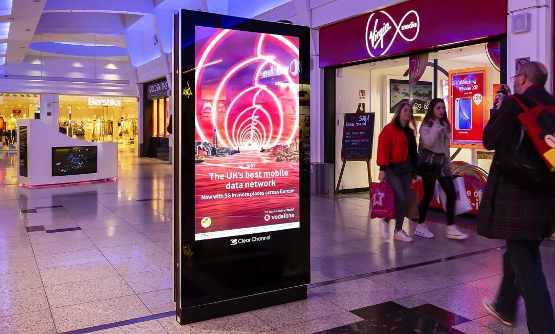 Malls Live video campaign