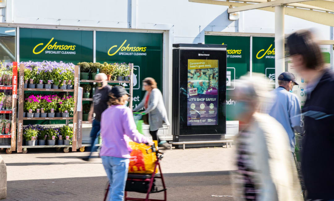 Doncaster Council ad on Asda Live
