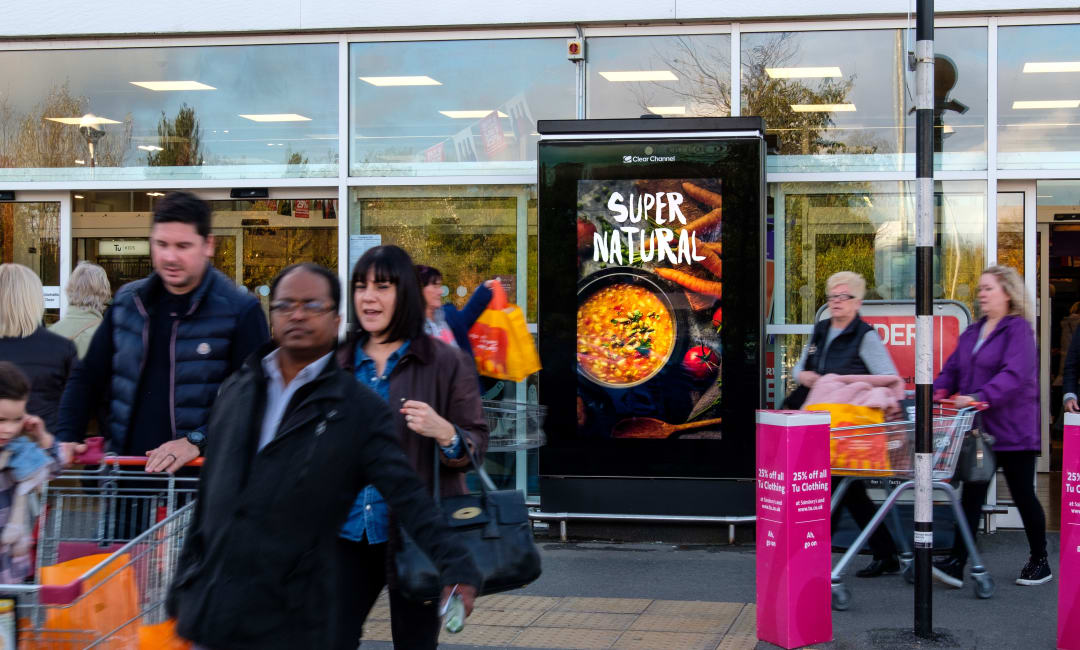 Sainsbury's Live Screen in Sunderland