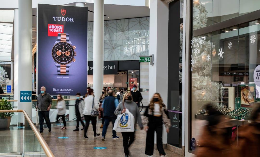 Malls Live XL Screen in Sheffield