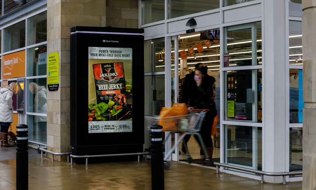 Sainsbury's Live Screen in Bradford