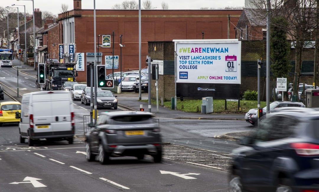 Billboard Site in Preston