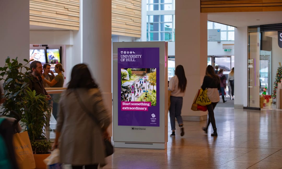 Malls Live Screen in Hull