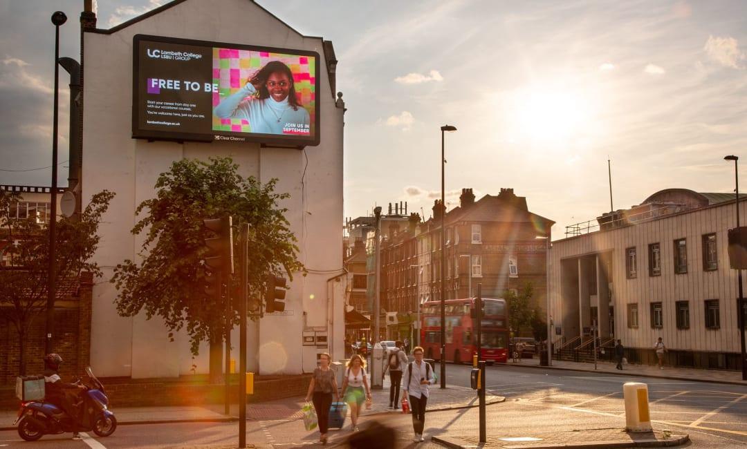 Billboard Live Screen in South London