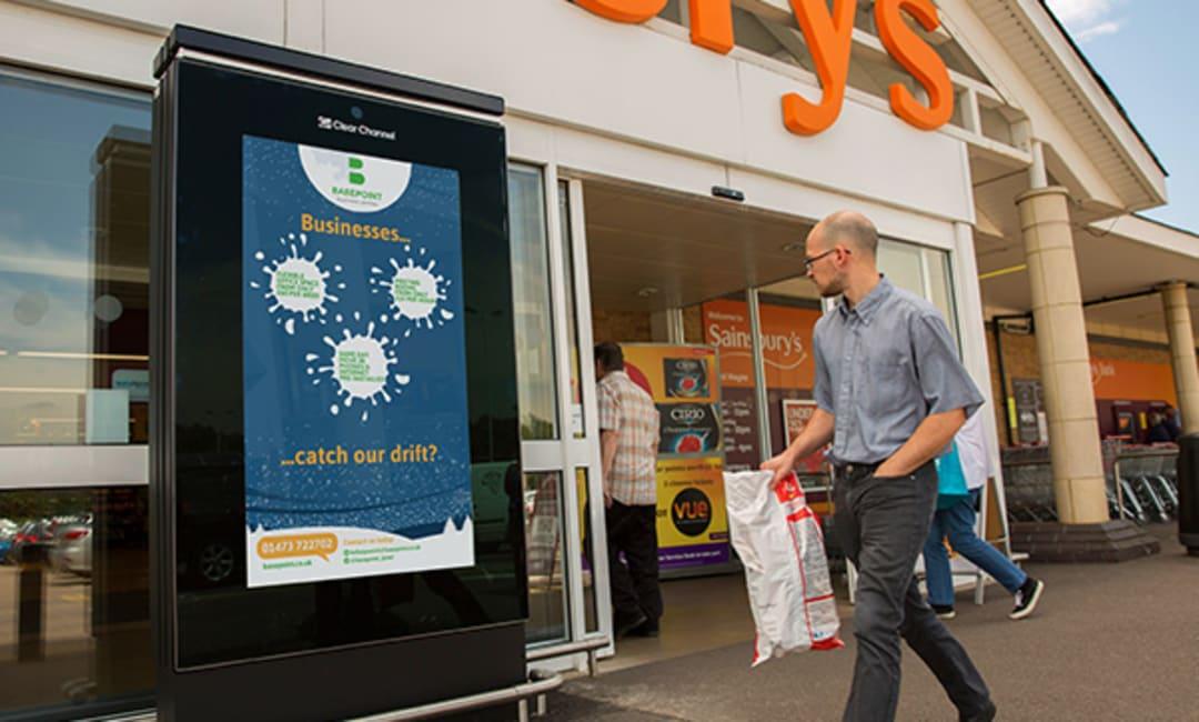 Sainsbury's Live Screen in Essex