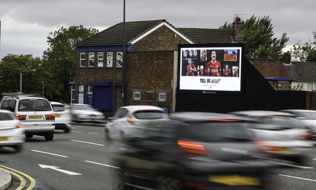 Billboard Live Screen in Liverpool