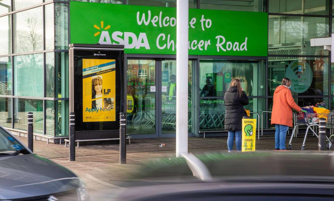Asda Live Screen in Rotherham