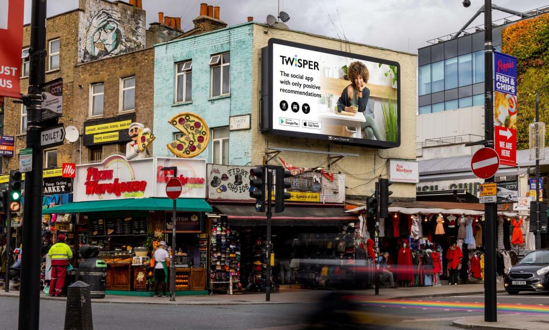 Billboard Live Screen in North London