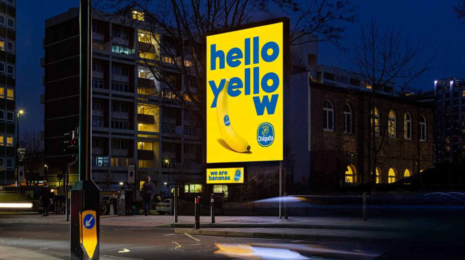 FMCG Advertising for Chiquita on Outdoor